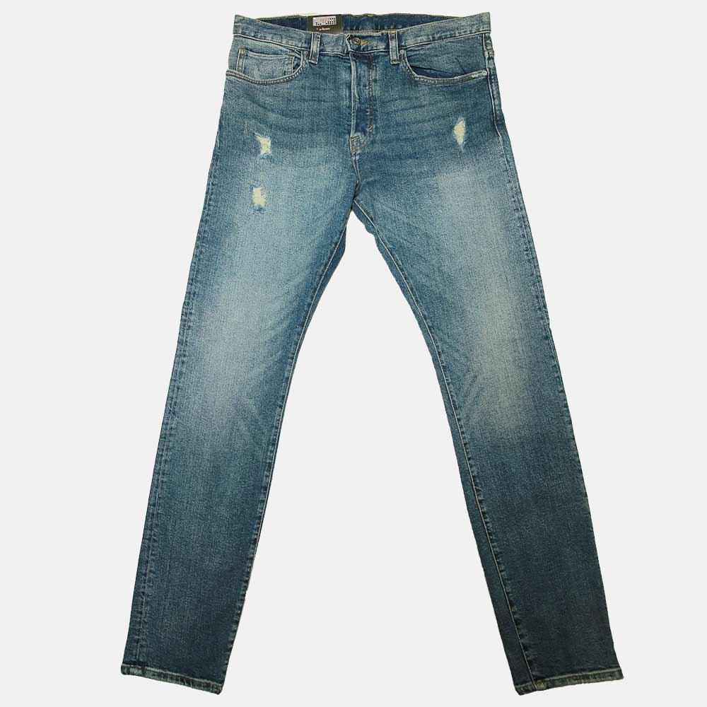 cb8a5f25cb5 Buy H&M Slim Fit Mid Blue Denim Jeans for Men | AlHaadiMart.Com ...