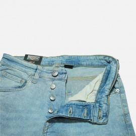 7379f8d9b36 Buy H&M Skinny Fit Light Blue Random Denim Jeans for Men ...