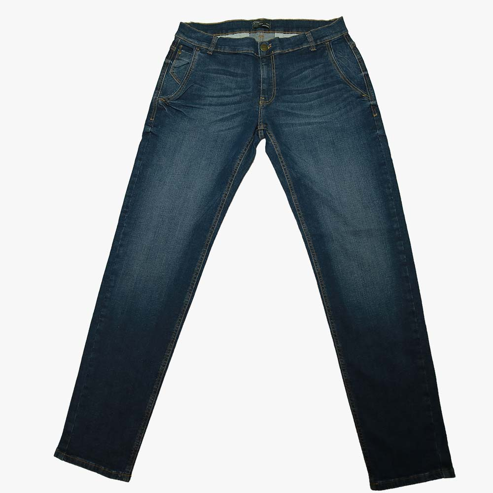 336bb3234c Zara Skinny Fit Dark Blue Chino Style Jeans Pant for Men ...